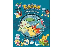 Pokemon Seek & Find Johto