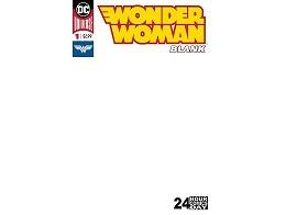 Wonder Woman Blank Comic #1 (ING/CB) Comic