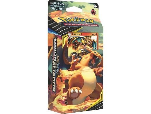 Mazo Pokémon TCG Unión de Aliados - Charizard