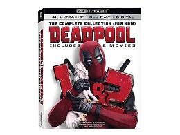 Deadpool 1+2 2-Pack 4K Blu-ray
