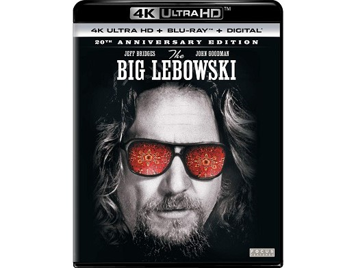 The Big Lebowski 20th Anniversary Ed 4k Blu-ray
