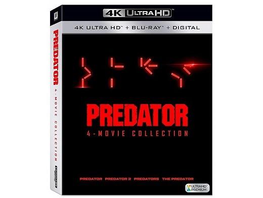 Predator 4 Movie Collection 4K Blu-Ray