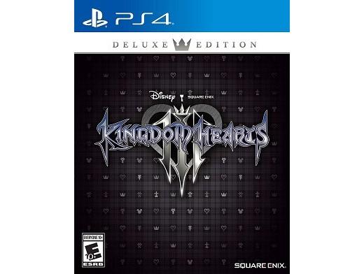 Kingdom Hearts III Deluxe Edition PS4