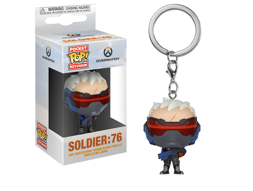 Llavero Pop! Games: Overwatch - Soldier 76