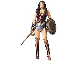 Figura Wonder Woman Mafex 060 Justice League Ver.