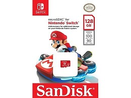 Tarjeta de Memoria SanDisk 128GB microSDXC NSW