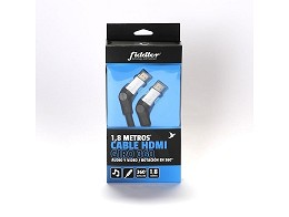 Cable HDMI Full HD 1.8 Mts Cabeza 360 Fiddler