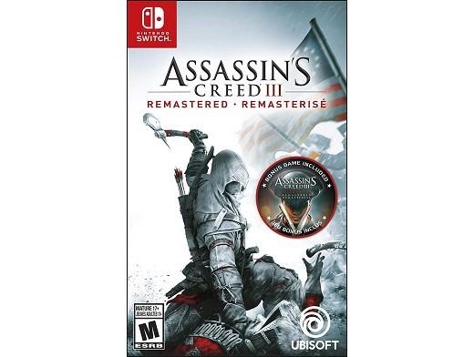 Assassin's Creed III: Remastered NSW Usado