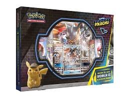 Pokémon TCG Det. Pikachu Greninja-GX Archivo Caso