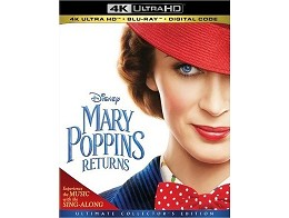 Mary Poppins Returns 4K Blu-Ray