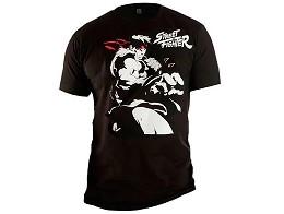 Polera Street Fighter Black Punch
