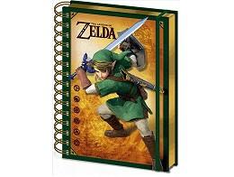Libreta portada 3D The Legend of Zelda - Link