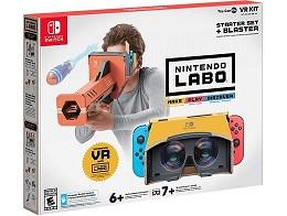 Nintendo Labo: VR Kit Starter Set + Blaster
