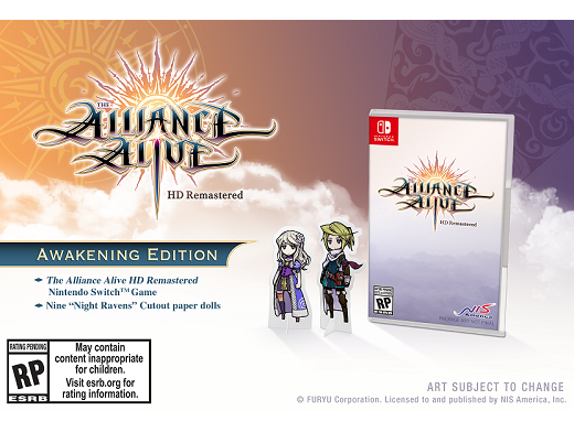 The Alliance Alive HD Remastered NSW