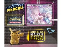 Pokémon TCG Det. Pikachu Mewtwo-GX Archivo Caso