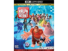 Ralph Breaks the Internet 4k Blu-ray