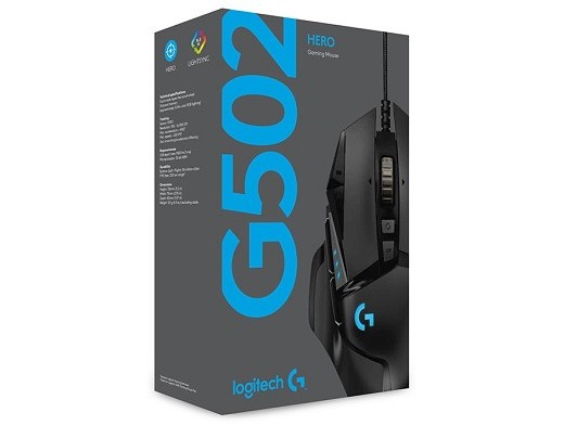 Mouse Logitech Gaming G502 Hero