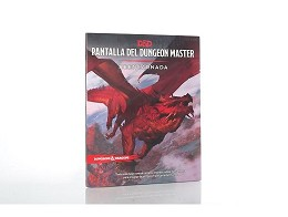 Dungeon & Dragons - Pantalla del dungeon master