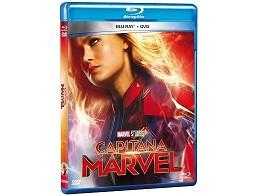 Capitana Marvel Blu-Ray + DVD (latino)