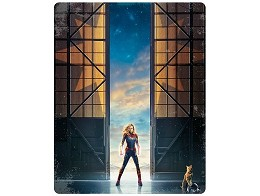 Capitana Marvel Blu-Ray + DVD Steelbook (latino)