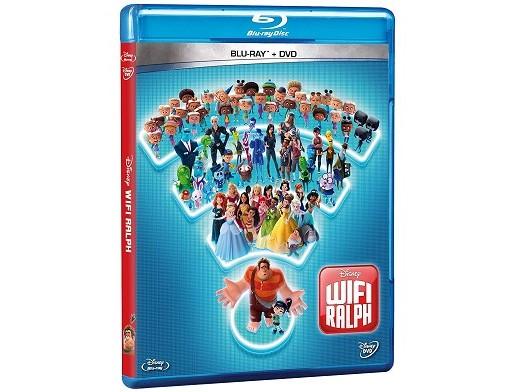 WiFi Ralph Blu-ray + DVD (latino)