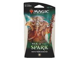 MTG War of the Spark - Theme Booster White