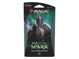 MTG War of the Spark - Theme Booster Black