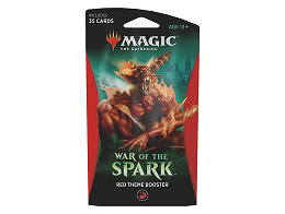 MTG War of the Spark - Theme Booster Red