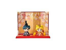 Figuras Petit Chara! Hinamatsuri Usagi & Mamoru
