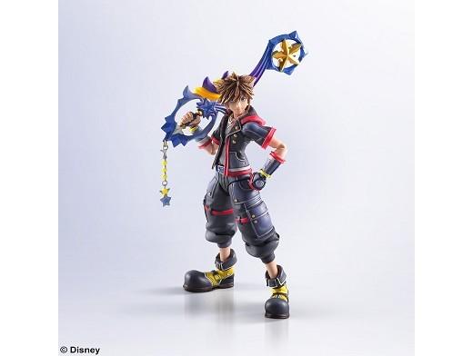 Figuras Sora Kingdom Hearts III Bring Arts