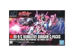Model Kit Narrative Gundam C Packs Gundam NT HGUC