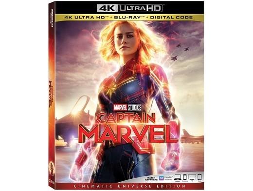 Captain Marvel 4K Blu-Ray