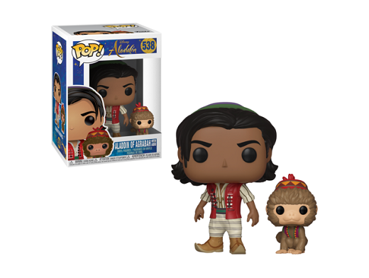 Figura Pop! Movies: Aladdin - Aladdin and Abu