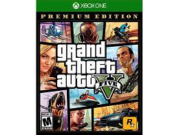 Grand Theft Auto GTA V Premium Edition XBOX ONE