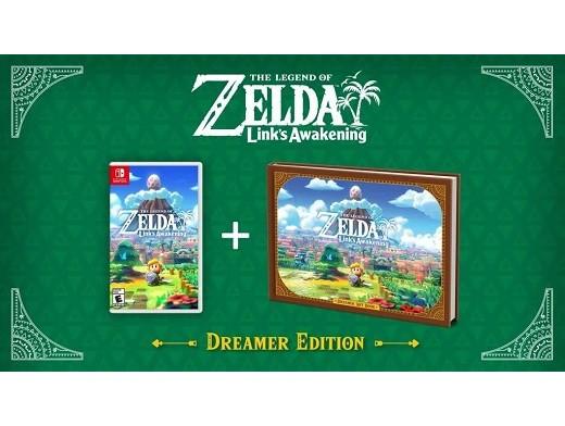 The Legend of Zelda Links Awakening Dreamer Ed NSW