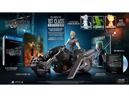 Final Fantasy VII Remake 1st Class Edition PS4
