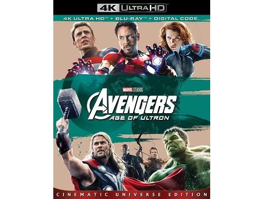 Marvel's Avengers: Age of Ultron 4K Blu-Ray