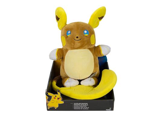 Peluche Pokémon Alolan Raichu 20 Cms
