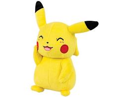 Peluche Pokémon Happy Pikachu 20 Cm