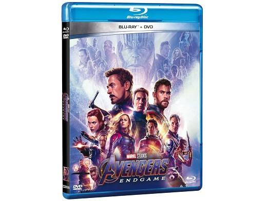 Avengers: Endgame Blu-ray + DVD (latino)
