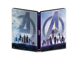 Avengers: Endgame Blu-ray Steelbook (latino)