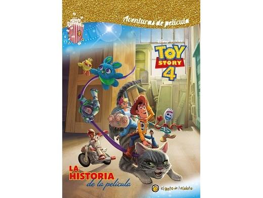 Toy Story 4: Historia de la película (ESP) Libro
