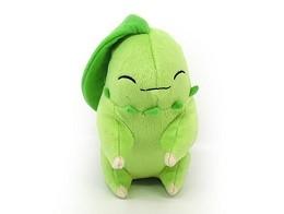 Peluche Pokémon Sleeping Chikorita 15 Cm