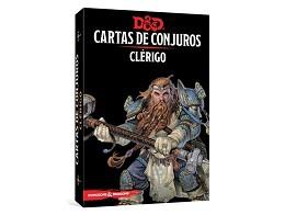 D&D Cartas de Conjuros - Clérigo