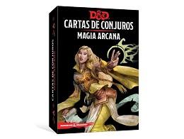 D&D Cartas de Conjuros - Magia Arcana