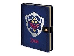 Libreta Premium The Legend of Zelda: Hylian Shield