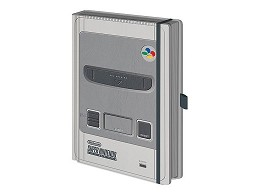 Libreta Premium Nintendo: Super Nintendo