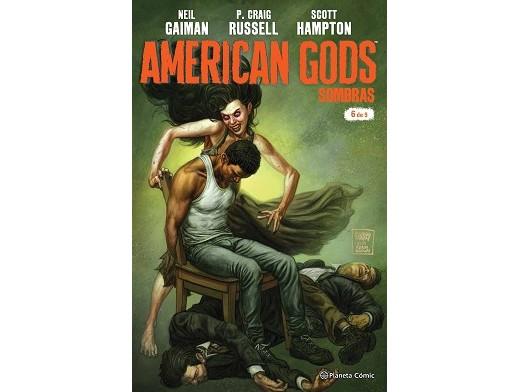 American Gods Sombras nº 06 (ESP/CB) Comic