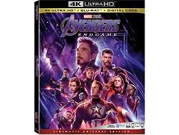 Avengers: Endgame 4K Blu-Ray (USA)