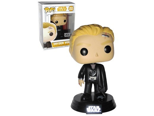 Figura Pop Star Wars Solo - Dryden Voss (no scars)